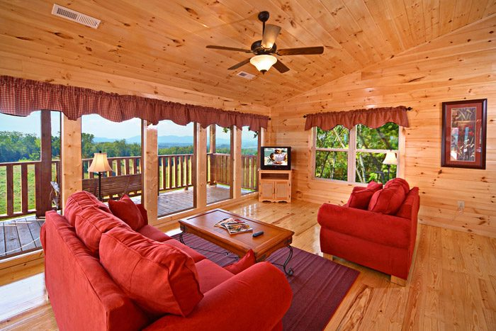Den with Views - Awesome Views