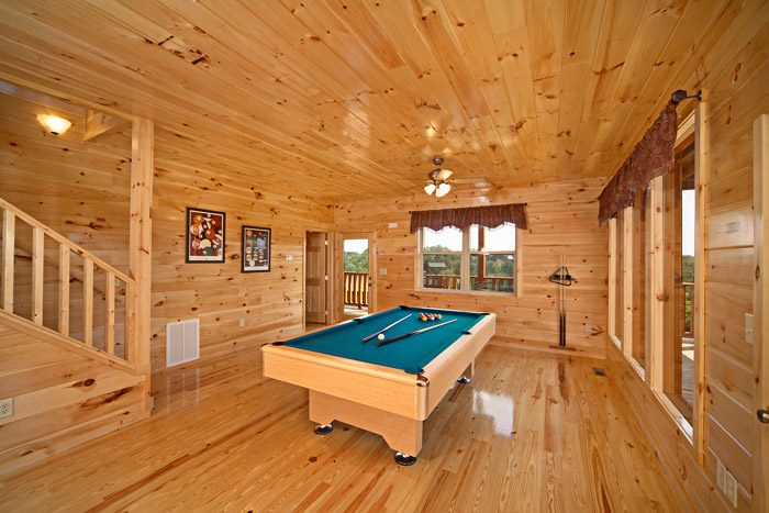 Pool Table with Views - Awesome Views