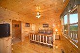King Bedroom at Cabin