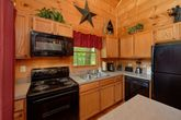 Cabin with Great Kitchen Appliances