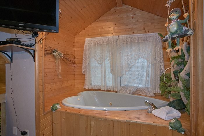 Pigeon Forge Pet Friendly Cabin With Indoor Hot Tub
