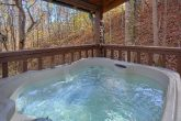 Honeymoon Cabin with Private Hot Tub