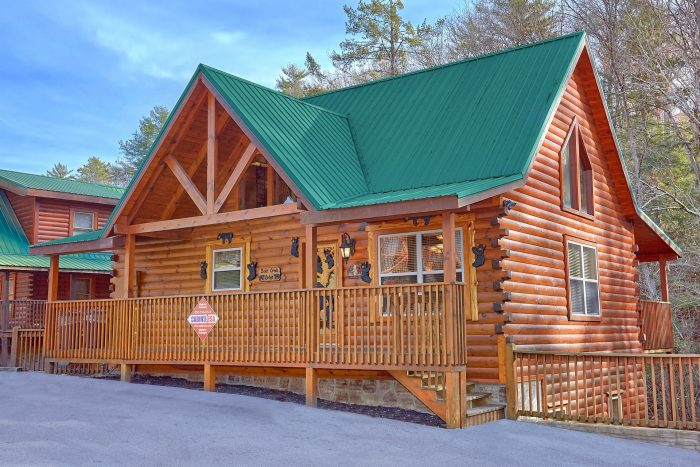 Luxury 4 Bedroom Pigeon Forge Cabin Bear Creek Lodge
