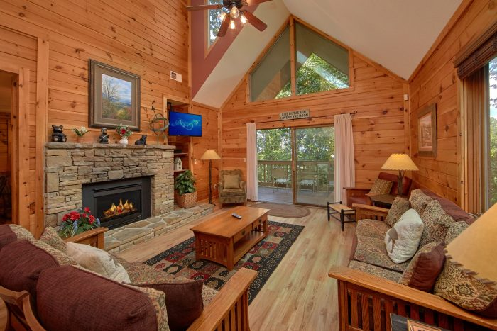 4 Bedroom 4 Bath Cabin Sleeps 8 - Bear Crossing