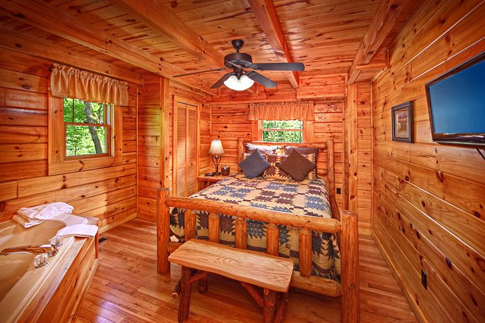 Smoky Mountains Style Hot Tub Guest Rooms Suites At Cabin Rentals Cabins In Cosby Tn Near