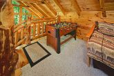 Lofted Game Room with Foosball Table