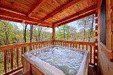 Private Outdoor Hot Tub at Gatlinburg Cabin