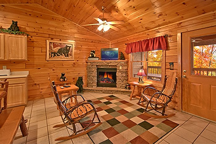 2 Bedroom Cabin with a Cozy Gas Fireplace - Bear Footin