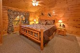 Luxurious King Bedroom in Pigeon Forge Cabin
