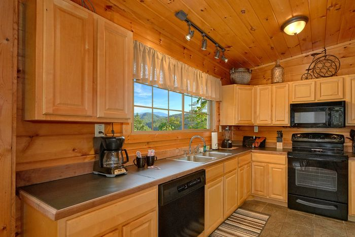 Smoky Mountain Cabin with Great Bear Decor - Bear Hugs