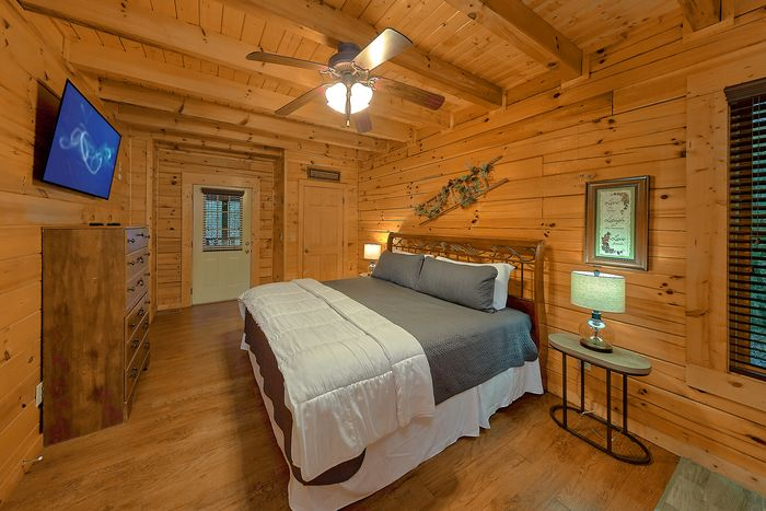 Cabin with King Bedroom - Bear Play