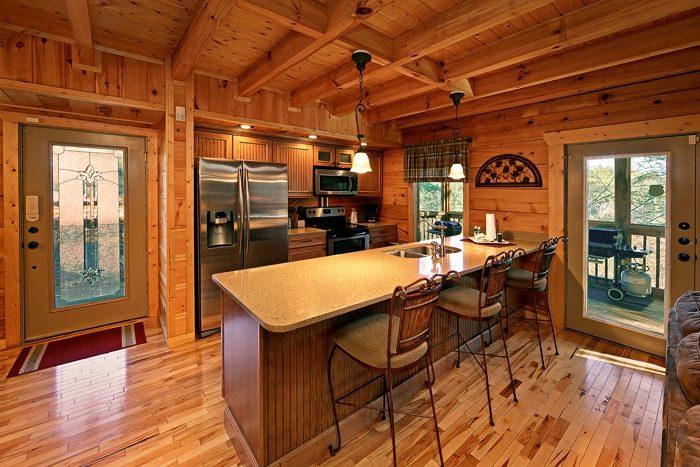 Fully Stocked Kitchen in Cabin - Bear-E-Nice