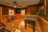 Fooseball Table in Billiard Room
