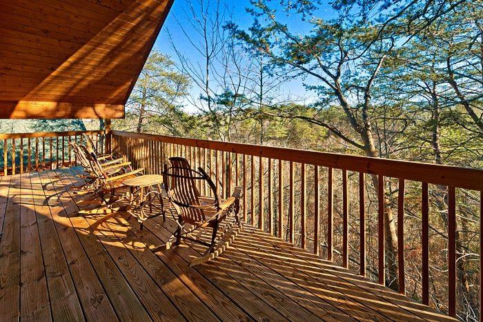 Top Deck of Cabin - Bear-E-Nice