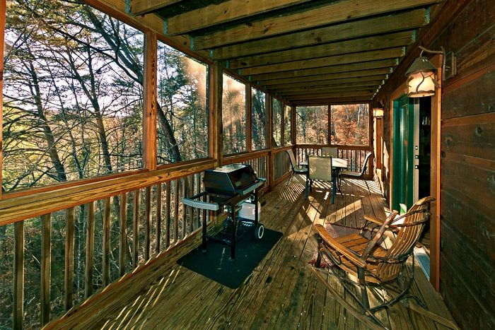 Cabin with Grill - Bear-E-Nice