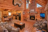 Private 2 Bedroom Cabin with Fireplace