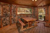 Gatlinburg Cabin with Picnic Table and Hot Tub
