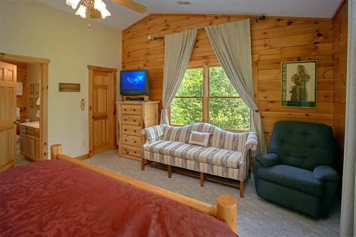Rustic Cabin with Private King Bedroom - Big Bear