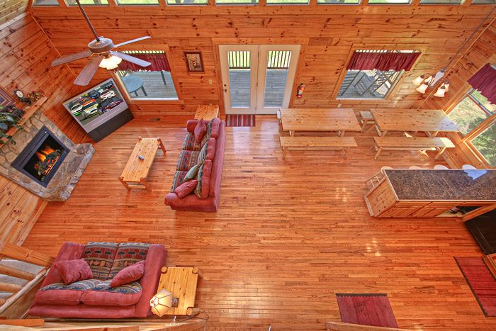 Cabin with Spacious Open Floor Plan - Big Bear Lodge