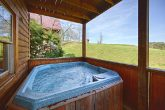 Cabin with Screened in Hot Tub
