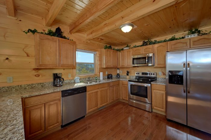 Beautiful Fully Equipped Kitchen 5 Bedroom - Big Mack Lodge