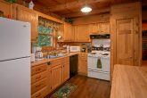 Spacious Kitchen in Gatlinburg Cabin
