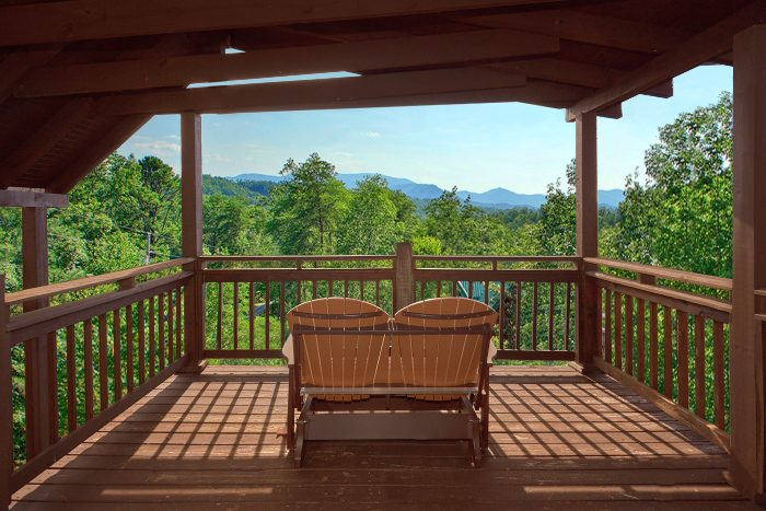2 bedroom vacation rental tennessee for Big sky cabin rentals