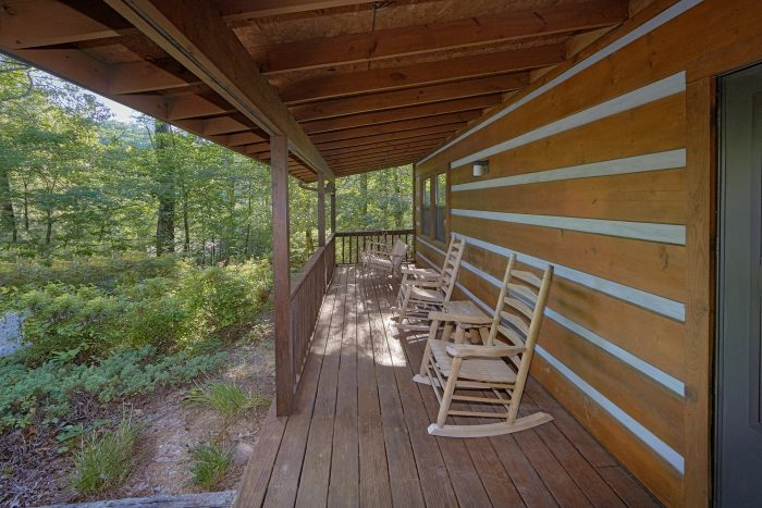 Rocking Chairs for Relaxation in the Mountains - Blessed Memories