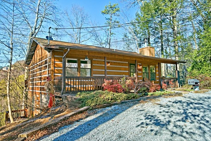 Semi Secluded Cabin Pigeon Forge Cabin Near Dollywood