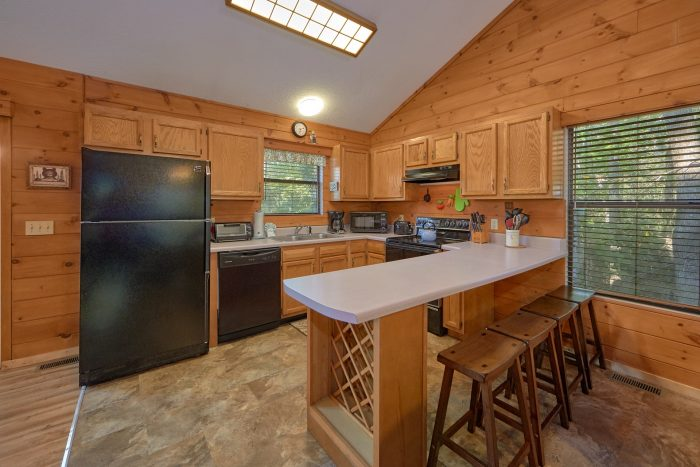 2 Bedroom 2 Bath Cabin in Pigeon Forge - Blessed Memories