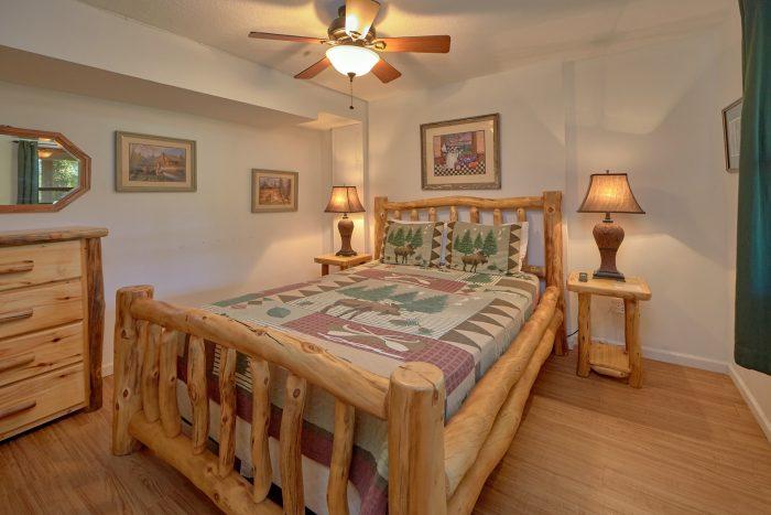 2 Bedroom Cabin 2 Bath Sleep 6 - Blessed Memories