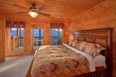5 Bedroom Cabin All King Suites with Fireplaces