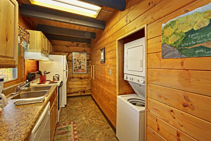 Washer and Dryer conveniently in Cabin - Caliente Cabin