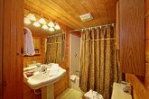 Cabin with Bathroom Featuring Shower and Tub