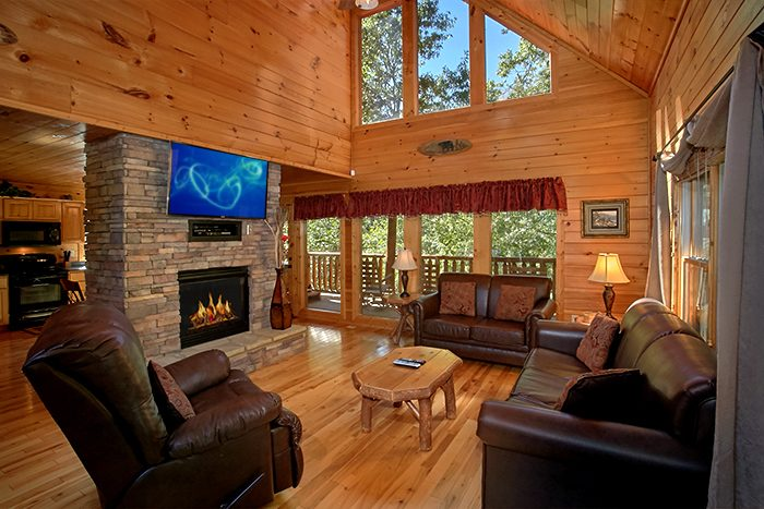 2 Bedroom Sky Harbor Luxury Log Cabins With Theater Room