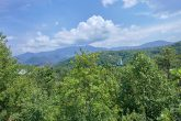 Views of Gatlinburg from 8 bedroom Chalet deck