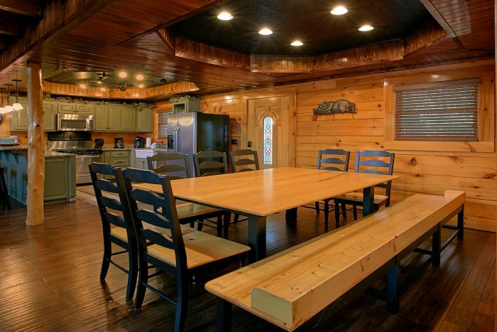 Family Size Cabin with Large Dining Room - Chateau Relaxeau