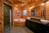 Premium Cabin with Master Bath and Jacuzzi Tub