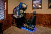6 Bedroom Cabin with Car Racing Arcade Game