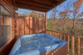 Private Hot Tub off the back of Cabin