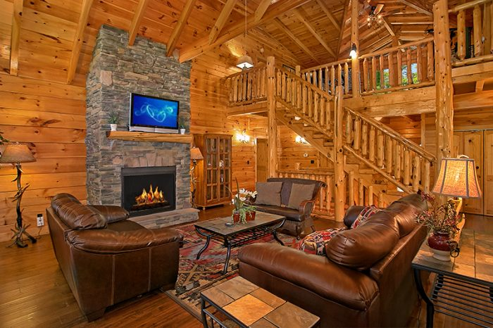 C\'mon Inn - 6 Bedroom Cabin in Pigeon Forge | Cabins USA
