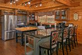 Family Size Kitchen with Bar seating in Cabin