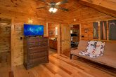 Master Suite with Private Bath, TV and Futon