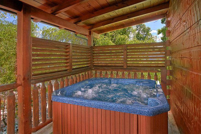 Luxury 6 Bedroom Cabin with Hot Tub on deck - C'Mon Inn