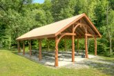 Cabin with Resort PIcnic Area and Pavillion