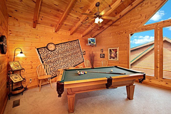 Pigeon Forge Cabin that offers a Billiard Room - Cool Like Jazz