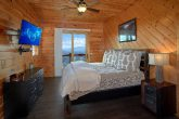 King Bed in Private Master Suite with Views