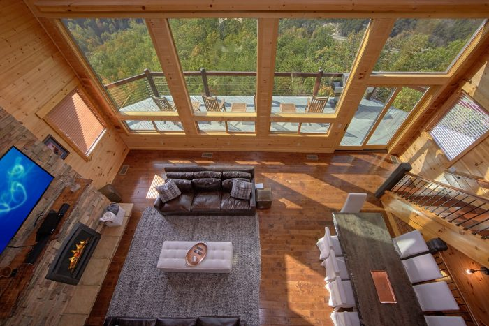 ... Luxury Cabin With Loft And Mountain Views   Copper Ridge Lodge ...