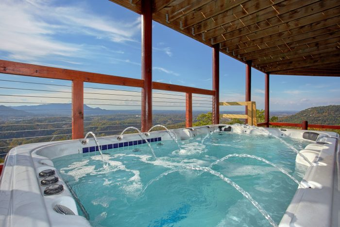 Luxury Cabin with Oversize Hot Tub and Views - Copper Ridge Lodge