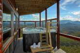 Swim Spa Hot Tub at 6 Bedroom Luxury Cabin
